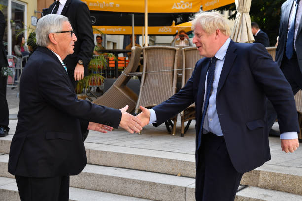 LUX: U.K. Prime Minister Boris Johnson Holds Brexit Talks