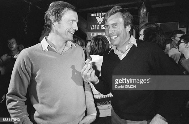 JeanClaude Killy lors du criterium international de la première neige à Val d'Isère France du 2 au 8 décembre 1979