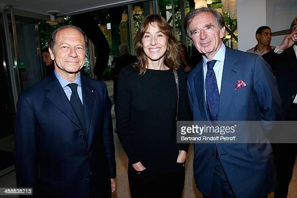 JeanClaude Meyer Nathalie BlochLaine and Aimery Langlois Meurinne attend the 'Fondation Cartier pour l'art contemporain' celebrates its 30th...
