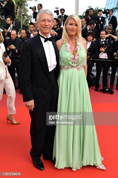 JeanClaude Narcy and Alice Bertheaume attend the screening of The Traitor during the 72nd annual Cannes Film Festival on May 23 2019 in Cannes France