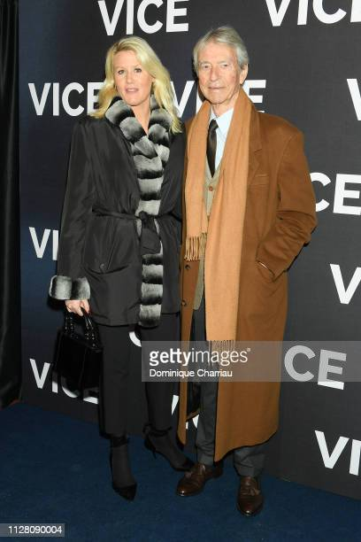 JeanClaude Narcy and Alice Bertheaume attend Vice Paris Premiere at Cinema Gaumont Opera on February 07 2019 in Paris France