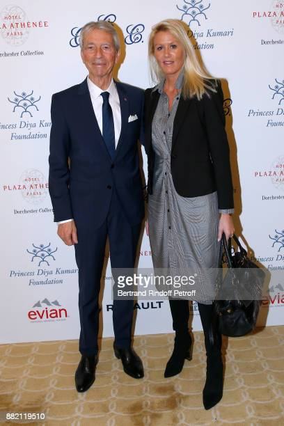 JeanClaude Narcy and Companion of the late Gonzague Saint Bris Alice Bertheaume attend the Charity Gala to Benefit the Princess Diya Kumari of Jaipur...