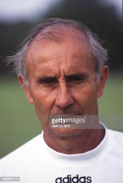 JeanClaude Suaudeau entraîneur de football le 11 septembre 1996 à Nantes France