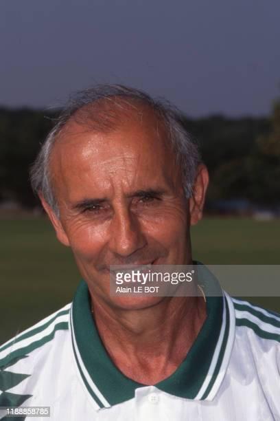 JeanClaude Suaudeau entraîneur du Football Club de Nantes France le 23 août 1995
