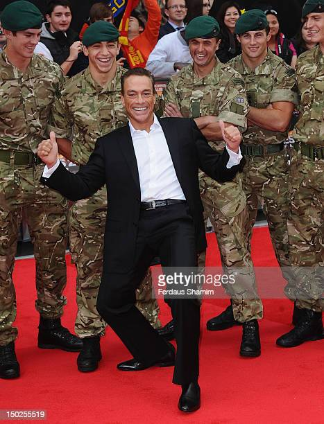 JeanClaude Van Damme attends the UK film premiere of The Expendables 2 on August 13 2012 in London United Kingdom