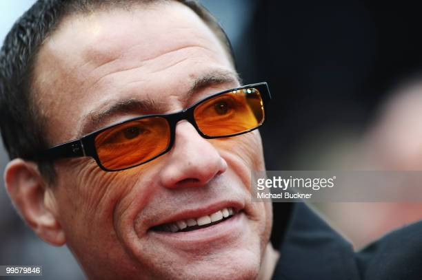 JeanClaude Van Damme attends the 'You Will Meet A Tall Dark Stranger' Premiere at the Palais des Festivals during the 63rd Annual Cannes Film...