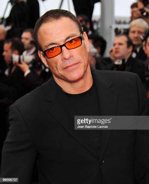 JeanClaude Van Damme attends the 'You Will Meet A Tall Dark Stranger' Premiere held at the Palais des Festivals during the 63rd Annual International...