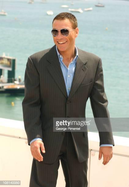 JeanClaude Van Damme during 2003 Cannes Film Festival JeanClaude Van Damme Photo Call at Cannes in Cannes France