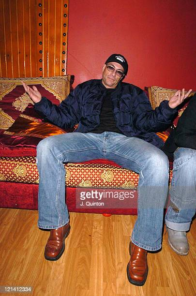 JeanClaude Van Damme during Action Star Party at Al Casbah in London England Great Britain