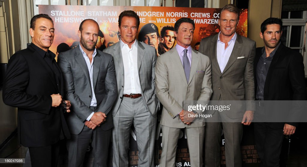 The Expendables 2 - Photocall