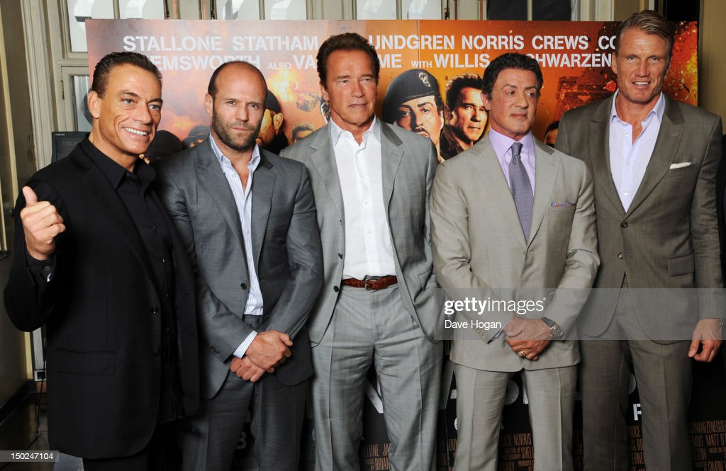 The Expendables 2 - Photocall : News Photo
