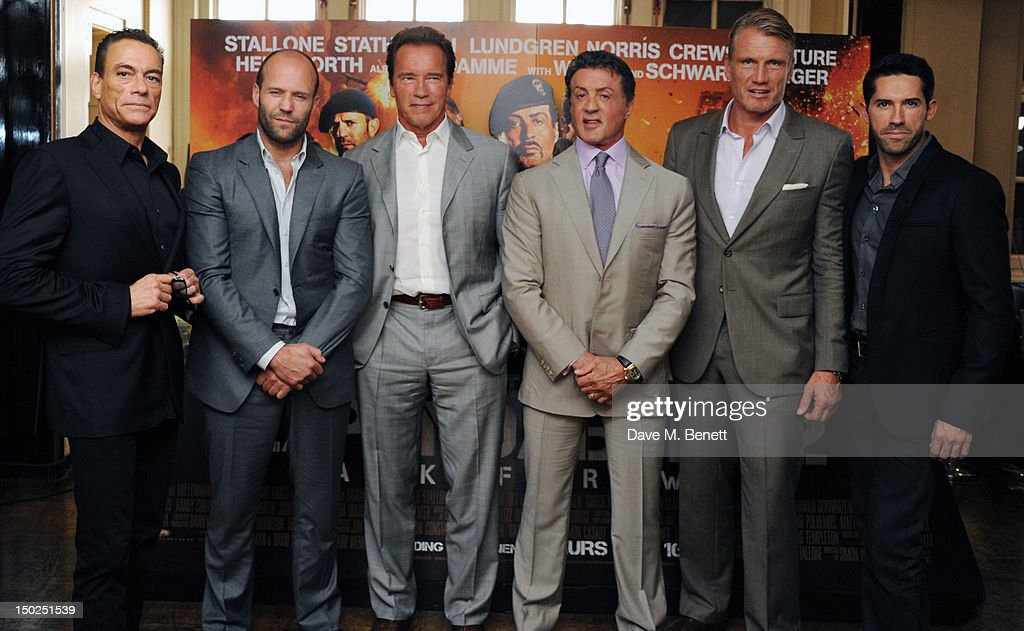 The Expendables 2 - UK Film Premiere - Photocall : News Photo