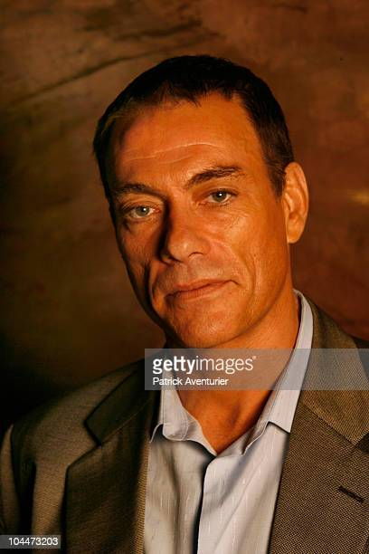 JeanClaude Van Damme poses during a portrait session for the last movie production of 'The Eagle Path' in Bangkok Thailand on October 10 2008