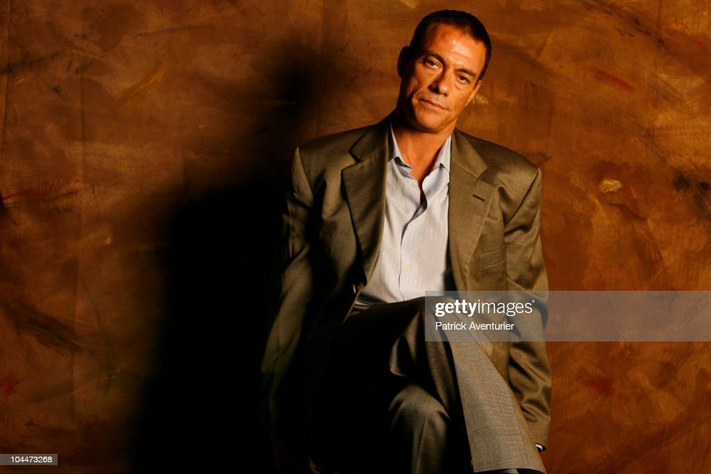 Exclusive Portrait Session with Jean-Claude Van Damme and Claudia Bassols. : News Photo