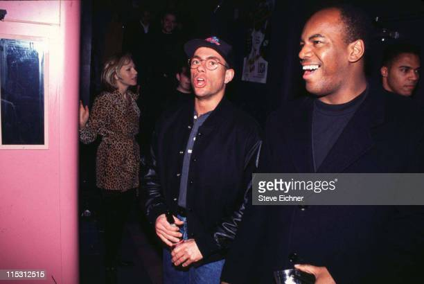 JeanClaude Van Damme Tatum O'Neal during JeanClaude Van Damme Tatum O'Neal at Club USA at Club USA in New York City New York United States