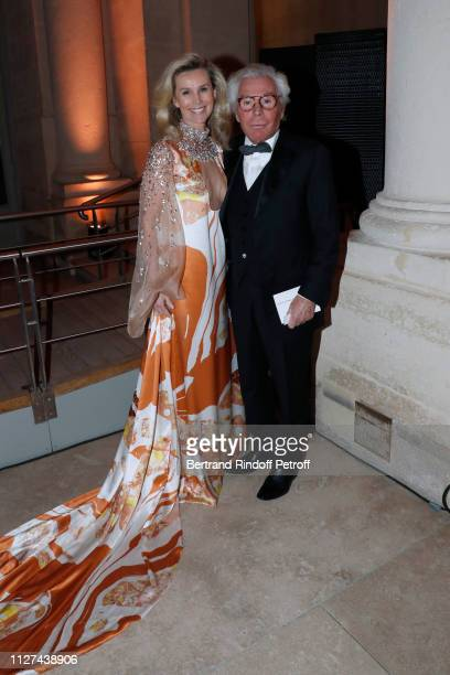 JeanDaniel Lorieux and his companion Laura RestelliBrizard attend the 19th Gala Evening of the Paris Charter Against Cancer under the patronage of...