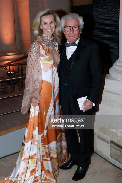 """Jean-Daniel Lorieux and his companion Laura Restelli-Brizard attend the 19th Gala Evening of the """"Paris Charter Against Cancer"""" under the patronage..."""