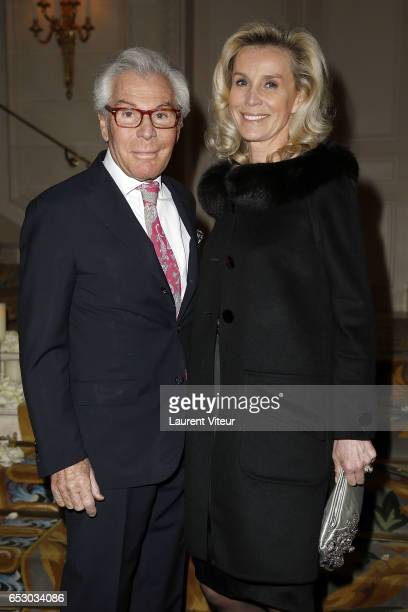 JeanDaniel Lorieux and Laura RestelliBrizard attend 'La Recherche en Physiologie' Charity Gala at Four Seasons Hotel George V on March 13 2017 in...