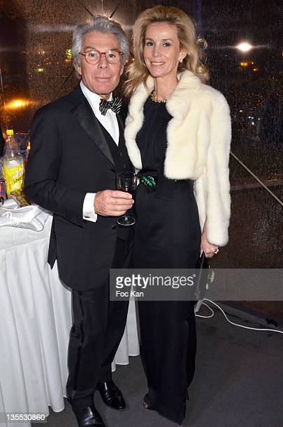 JeanDaniel Lorieux and lawyer Laura Restelli Brizard attend The Best Awards 2011 Ceremony at Pavillon Dauphine on December 11 2011 in Paris France