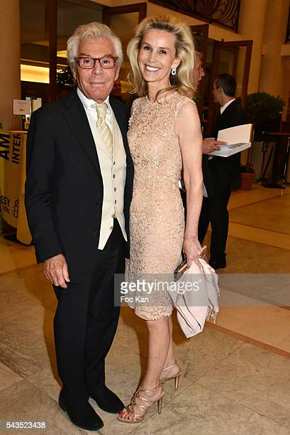 JeanDaniel LorieuxÊand Laura Restelli attend 22th Amnesty International France Gala at Theatre des Champs Elysees on June 28 2016 in Paris France
