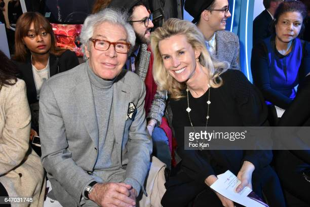 JeanDaniel LorieuxÊand Laura Restelli attend the Christophe Guillarme show as part of the Paris Fashion Week Womenswear Fall/Winter 2017/2018 on...
