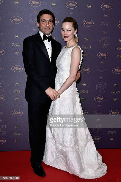 JeanDavid Blanc and Melissa George arrive at the Opening Gala Dinner during the 69th Annual Cannes Film Festival on May 11 2016 in Cannes France