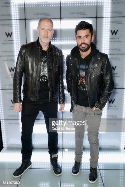 JeanDavid Malat and JeanBernard FernandezVersini attend the official launch of The Perception at The W Hotel on November 7 2017 in London England