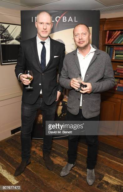 JeanDavid Malat and Matthew Freud attend an exclusive screening of 'Ali Nino' at Soho House on March 5 2018 in London England