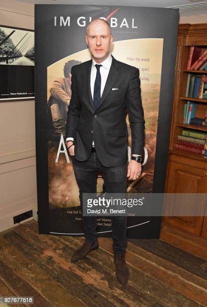 JeanDavid Malat attends an exclusive screening of 'Ali Nino' at Soho House on March 5 2018 in London England