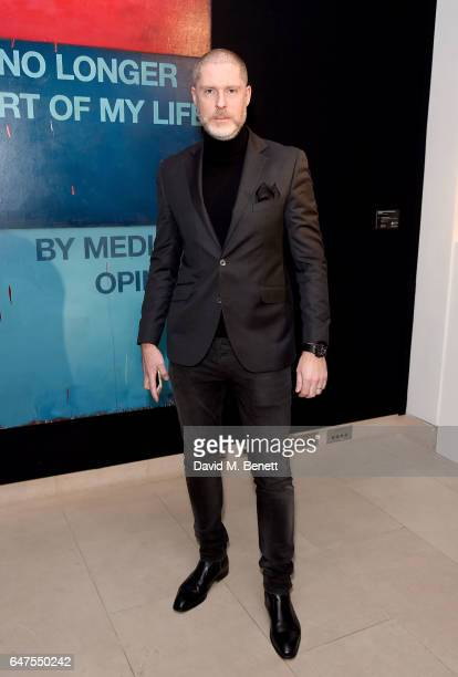 LONDON ENGLAND MARCH JeanDavid Malat attends the Be Inspired private view and party in aid of Children the Arts on March 3 2017 in London England