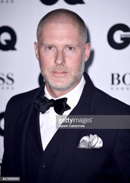 JeanDavid Malat attends the GQ Men Of The Year Awards at the Tate Modern on September 5 2017 in London England