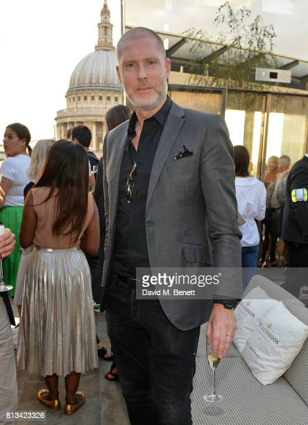 JeanDavid Malat attends the Madison Rooftop party on July 12 2017 in London England