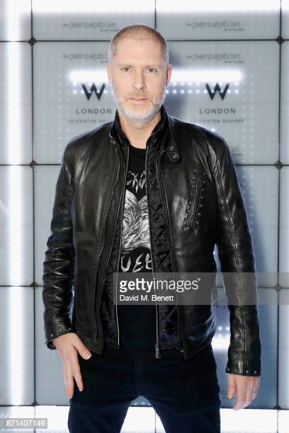JeanDavid Malat attends the official launch of The Perception at The W Hotel on November 7 2017 in London England