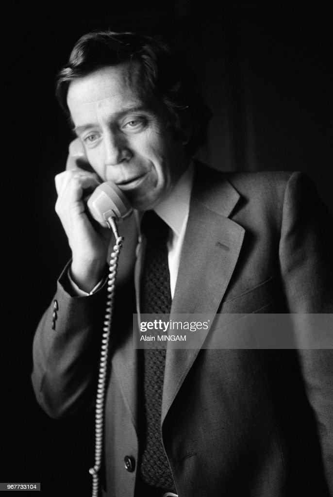 Portrait de Jean-Denis Bredin en 1977 Pictures | Getty Images on