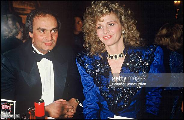 Jeane Manson and her boyfriend at a Paradis Latin party in Paris Andre Horney's 80th birthday