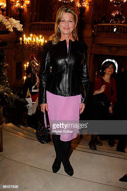 Jeane Manson attends the Conseil Pasteur Weizmann For Peace and Science 35th Anniversary at Opera Bastille on April 14 2010 in Paris France