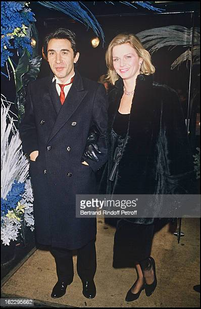 Jeane Manson with Richard Berry at a party at L'Alcazar