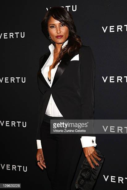 Jeanene Fox attend the Vertu Global Launch Of The 'Constellation' at Palazzo Serbelloni on October 18 2011 in Milan Italy
