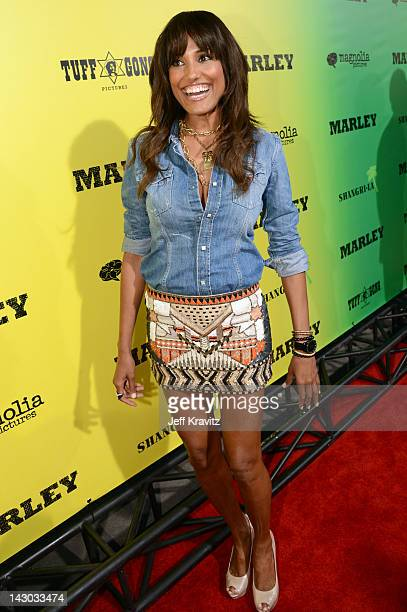 Jeanene Fox attends the Los Angeles premiere of Marley at ArcLight Cinemas Cinerama Dome on April 17 2012 in Hollywood California