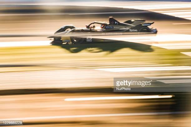 Jean-Eric , DS Techeetah, DS E-Tense FE20, action during the ABB Formula E Championship official pre-season test at Circuit Ricardo Tormo in Valencia...