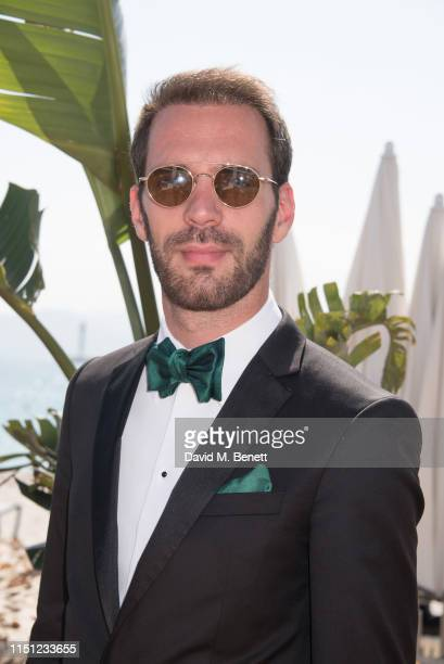 JeanEric Vergne attends a cocktail party hosted by Alejandro Agag ahead of the World Premiere of the Formula E documentary And We Go Green during the...