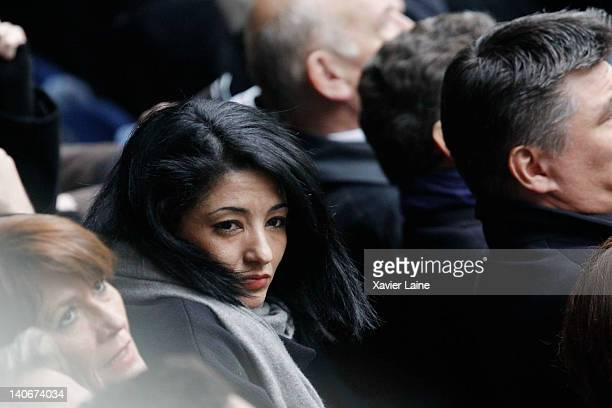 Jeanette Bougrab attends the RBS Six Nations Tournament between France and Ireland at Stade de France on March 4 2012 in Paris France