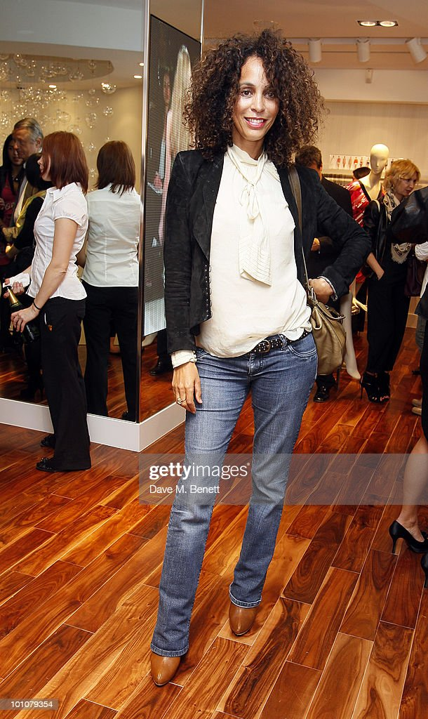 Jeanette Calliva attends the store opening of BCBGMAXAZRIA on May 27, 2010 in London, England.