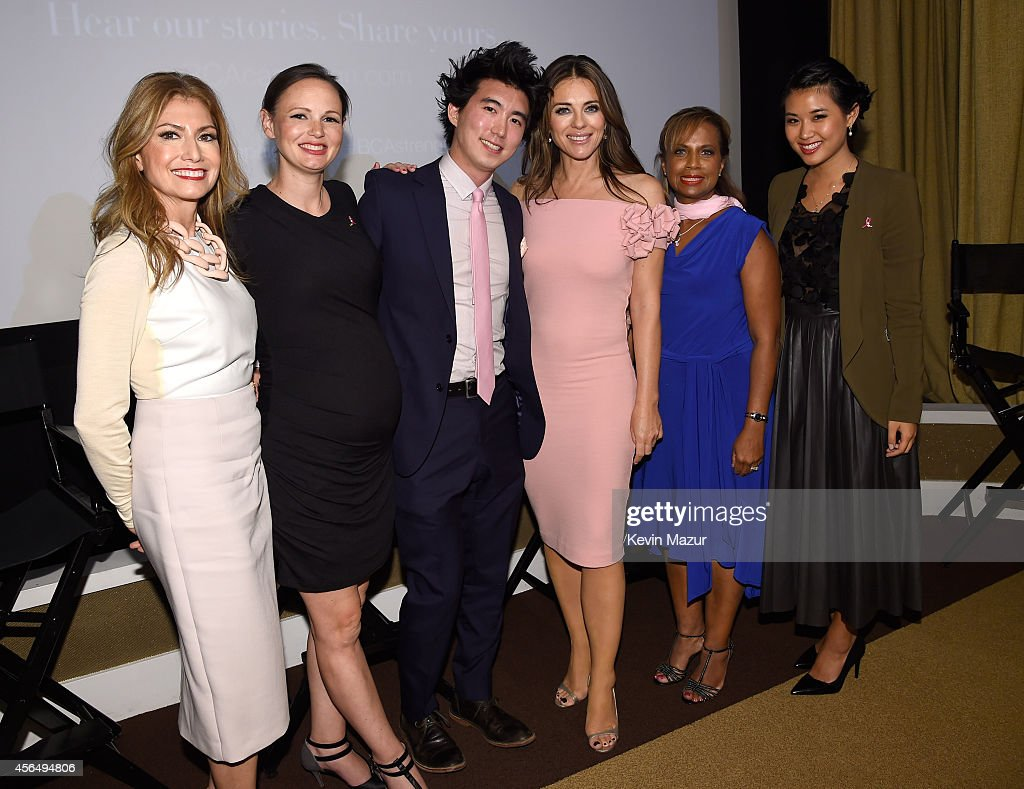 "The Estee Lauder Companies Breast Cancer Awareness (BCA) Campaign And The Cinema Society Host A Special Screening Of ""Hear Our Stories. Share Yours."" : News Photo"