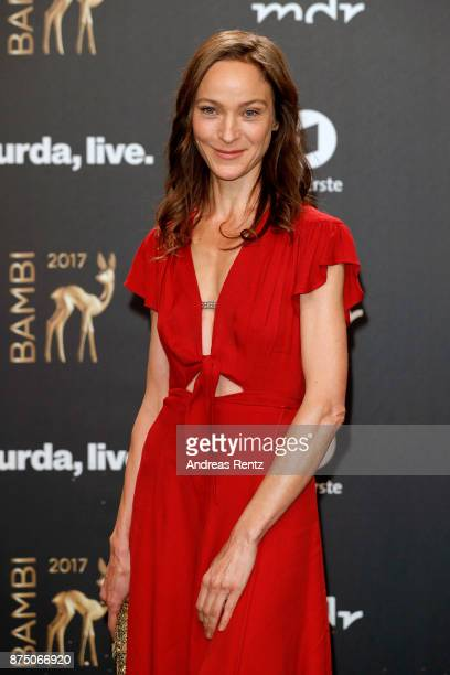 Jeanette Hain arrives at the Bambi Awards 2017 at Stage Theater on November 16 2017 in Berlin Germany