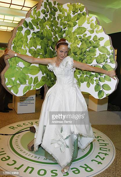 Jeanette Hain attends the Clean Tech Media Award 2011 at Curio house on September 16 2011 in Hamburg Germany