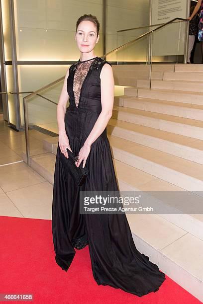 Jeanette Hain attends the Deutscher Hoerfilmpreis 2015 at Deutsche Bank on March 17 2015 in Berlin Germany