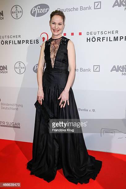 Jeanette Hain attends the Deutscher Hoerfilmpreis 2015 on March 17 2015 in Berlin Germany