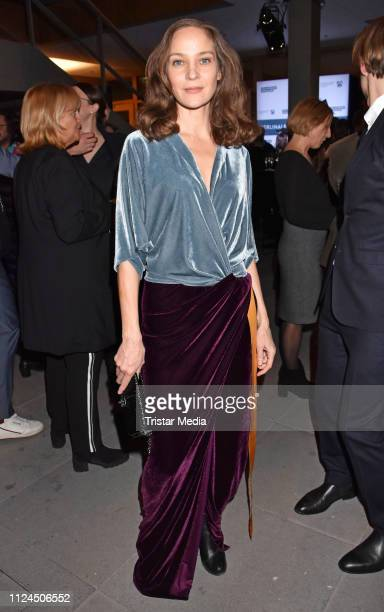 Jeanette Hain attends the NRW reception during 69th Berlinale International Film Festival on February 10 2019 in Berlin Germany