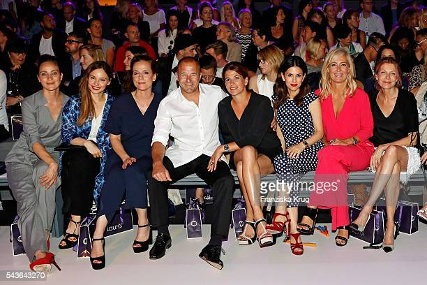 Jeanette Hain Mina Tander Claudia Michelsen Heino Ferch MarieJeanette Ferch Viktoria Lauterbach Judith Milberg and Ursula Karven attend the Laurel...
